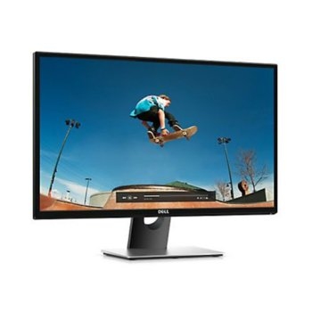 "Монитор Dell SE2717H, 27""(68.58 cm) IPS панел, Full HD, 6ms, 8 000 000:1, 300 cd/m2, HDMI, VGA image"