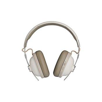 Слушалки Panasonic RP-HTX90NE, безжични, микрофон, Bluetooth, до 24 часа работа, бели image