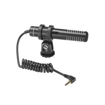 Микрофон Audio-Technica PRO24-CMF, 3.5mm жак, 100-17000 Hz, за камери, кондензаторен, черен image