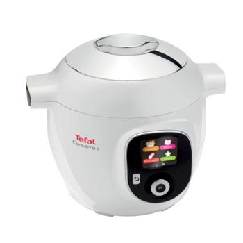 Мултифункционален уред за готвене Tefal CY851130 COOK4ME Standard, 6 л. капацитет, 6 програми, 1600W, бял image