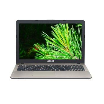 "Лаптоп ASUS VivoBook Max X541UA-GO1345, двуядрен Skylake Intel Core i3-6006U 2.0GHz, 15.6"" (39.62 cm) HD LED дисплей(HDMI), 4GB DDR3, 1TB HDD, 1x USB Type C Gen1, 1x USB 3.0, Linux, 2kg image"