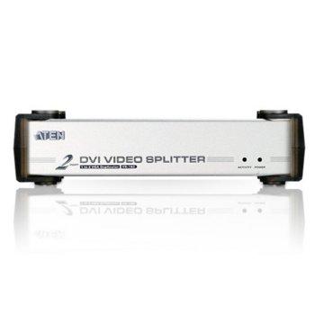 Видео сплитер ATEN VS162, от 1x DVI-I (ж) към 2x DVI-I (ж) image