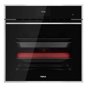 Фурна за вграждане Teka iOven, енергиен клас А+, 70л. обем, 50 програми(Personal cooking assistant), 18 функции, Hydroclean® PRO, черна image