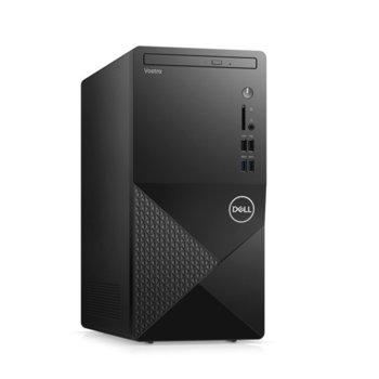 Настолен компютър Dell Vostro 3888 MT (N1000VD3888EMEA01_2105_WIN-14), осемядрен Comet Lake Intel Core i7-10700 2.9/4.8 GHz, 8GB DDR4, 1TB HDD, клавиатура и мишка, Windows 10 Pro image
