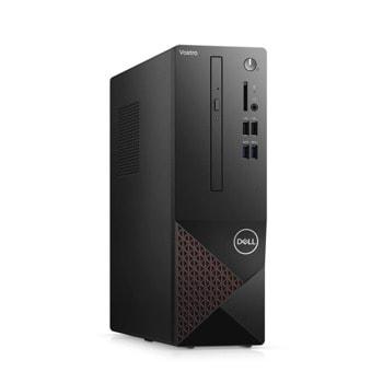 Настолен компютър Dell Vostro 3681 SFF (N209VD3681EMEA01_2101), шестядрен Comet Lake Intel Core i5-10400 2.9/4.3 GHz, 8GB DDR4, 1TB HDD, 4x USB 3.2 Gen 1, Windows 10 Pro image