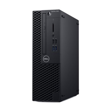 Настолен компютър Dell OptiPlex 3060 SFF (S053O3060SFFECAPU_UBU2-14), четириядрен Coffee Lake Intel Core i3-8100 3.6 GHz, 8GB DDR4, 1TB HDD, 4x USB 3.1, клавиатура и мишка, Linux  image