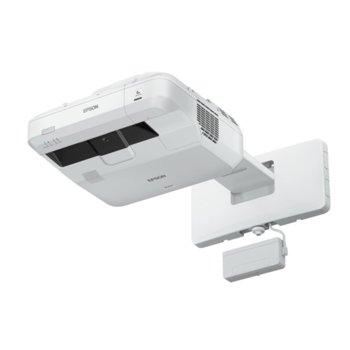 Проектор Epson EB-1470Ui, 3LCD, WUXGA (1920x1200), 2 500 000:1, 4000 lm, LAN, Wi-Fi, VGA, DVI, HDMI, USB image