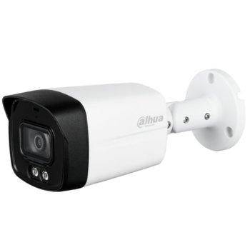 """HDCVI камера Dahua HAC-HFW1239TLM-A-LED-036, насочена """"bullet"""" камера, 2 Mpix(1920x1080@25fps), 3.6mm обектив, IR осветеност (до 40м), външна IP67 image"""