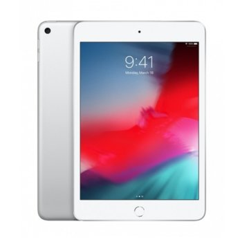 "Таблет Apple iPad Mini 5 (MUQY2HC/A)(сребрист), 7.9"" (20.07 cm), осемядрен Apple A12 Bionic, 3GB RAM, 64GB Flash памет, 8.0 & 7.0 MPix камера, iOS, 300g image"