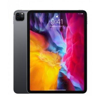 """Таблет Apple iPad Pro (2nd Generation)(MY2V2HC/A)(сив), 4G/LTE, 11"""" (27.94 cm) Liquid Retina дисплей, осемядрен Apple A12Z Bionic, 6GB RAM, 128GB Flash памет, 12.0 + 10.0 MPix & 7.0 MPix камера, iPad OS, 473g  image"""