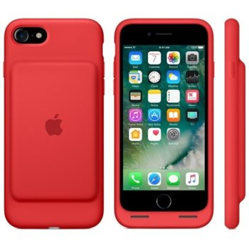 Apple iPhone 7 Smart Battery Case - RED product