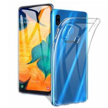Калъф за Samsung Galaxy A20e, термополиуретанов, Case FortyFour CFFCA0217, прозрачен image