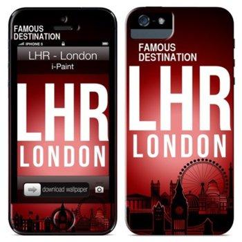 Протектор iPaint London Case за iPhone 5/5s, термополиуретанов image