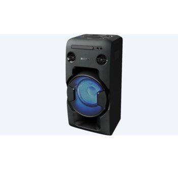 Аудио система Sony MHC V11, CD, MP3, Bluetooth, USB, парти светлини, черна image