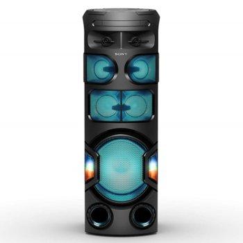 Аудио система Sony MHC-V71D, HDMI, USB, Bluetooth, NFC, CD, DVD, парти светлини, черна image