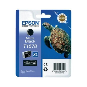 ГЛАВА ЗА EPSON STYLUS PHOTO R3000 - Matte Black - P№ C13T15784010 - заб.: 25.9ml. image