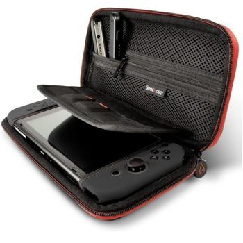 Калъф Steelplay, за Nintendo Switch, място за 10 дискети, джоб за аксесоари, черен image