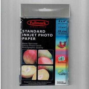 Fullmark Inkjet Photo Paper Glossy PPIPH204R product