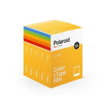 Фотохартия Polaroid Color film for i-Type – x40 film pack, 4 x 3 inch, 5x 8 листа image