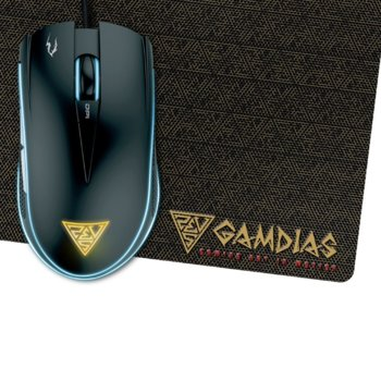 Комплект Gamdias ZEUS E2 OPTICAL + PAD NYX E1 product