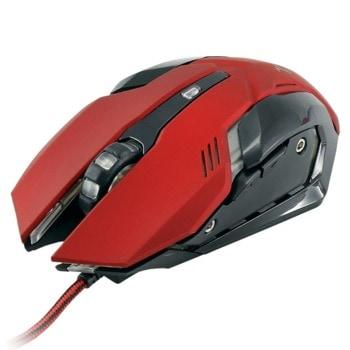 Мишка White shark GM-1604 Caesar, оптична (4800 dpi), USB, червена image