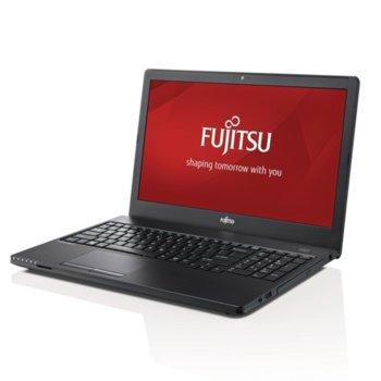 "Лаптоп Fujitsu Lifebook A357 (S26391-K425-V500), двуядрен Kaby Lake Intel Core i5-7200U 2.5/3.1 GHz, 15.6"" (39.62 cm) HD Glare Display, (HDMI), 4GB DDR4, 256GB SSD, 3x USB 3.1, Free DOS, 2,2 kg image"