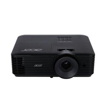 Проектор Acer X138WHP (MR.JR911.00Y), DLP, WXGA (1280 x 800), 20,000:1, 4000 lm, HDMI, VGA, USB, AUX image