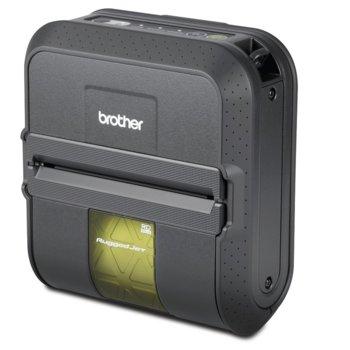 Мобилен етикетен принтер Brother RuggedJet RJ-4040, 2 г. image