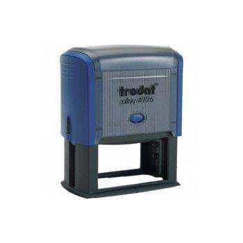 Автоматичен печат Trodat 4926 син, 38/75 mm, правоъгълен image