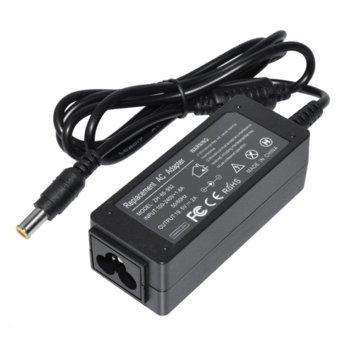 Захранване (заместител) за лаптопи Sony VGP-AC19V39/VGP-AC19V40/VGP-AC19V47/VGP-AC19V57, 19.5V/2A, 40W, 6.5 x 4.4mm жак image