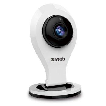 IP камера Tenda C5, за дома, 720p (1280x720@25fps), 2.8mm обектив, H.264/MJPEG, IR осветеност (до 10м), Wi-Fi, MicroSD слот image