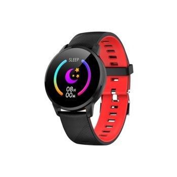 Смарт часовник Y16, 43mm, Bluetooth V4.2, IP67, черен image