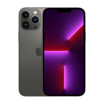"""Смартфон Apple iPhone 13 Pro Max (сив), 6.7"""" (17.02 cm) Super Retina XDR OLED 120Hz дисплей, шестядрен Apple A15 Bionic 3.22 GHz, 6GB RAM, 256GB Flash памет, 12.0 + 12.0 + 12.0 & 12.0 MPix камера, iOS, 240g image"""