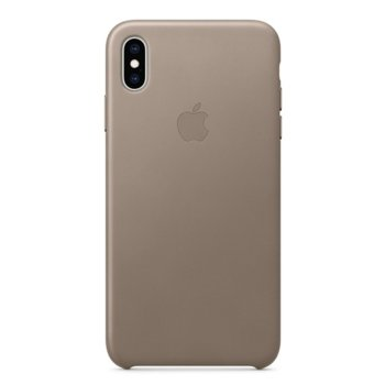 Apple iPhone XS Max Leather Case - Taupe product