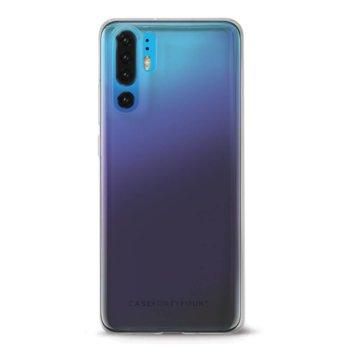 Калъф за Huawei P30 Pro, термополиуретанов, Case FortyFour No.1 CFFCA0187, прозрачен image