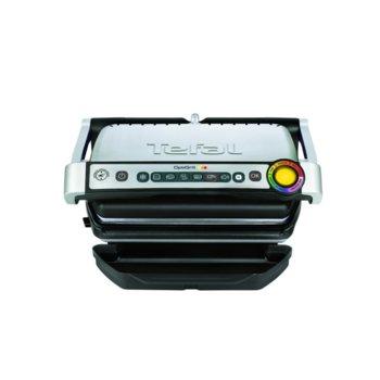 Грил преса Tefal GC702D16, 2000W, 6 програми за готвене, 2 режима на готвене, сребрист image