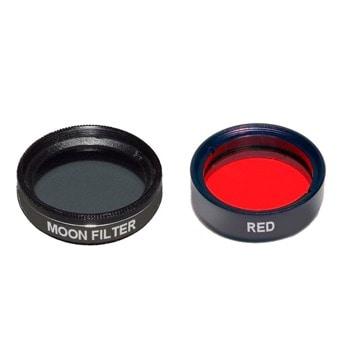 """Комплект филтри за телескоп Levenhuk F2 """"Луната и Марс"""", включва лунен и червен филтър, 1.25mm диаметър на цилиндъра image"""