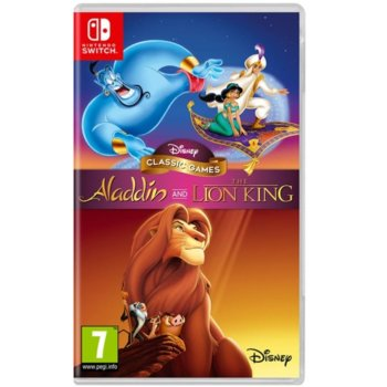 Disney CG: Aladdin and The Lion King Switch product