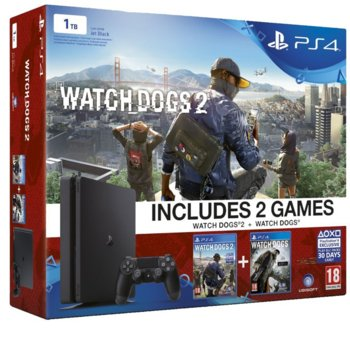 Sony PlayStation 4 Slim Watch Dogs product