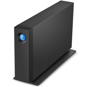 """Твърд диск 4TB, LaCie d2 Professional STHA4000800 (черен), външен, 3.5"""" (8.89 cm), USB Type C image"""