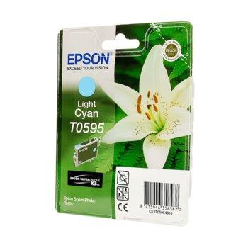 ГЛАВА ЗА EPSON Stylus Photo R2400/2400 - T0595- Light Cyan - P№ C13T05954010 - 13ml image