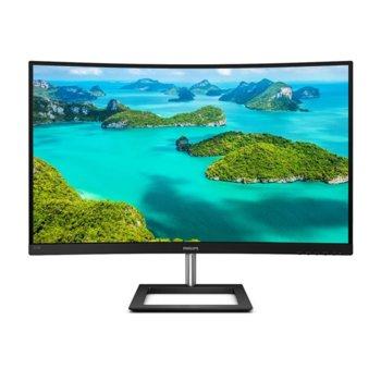 """Монитор Philips 325E1C, 31.5"""" (80.01 cm), VA, WQHD, 4ms, 3000:1, 250cd/m2, HDMI, DisplayPort, VGA image"""
