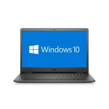"Лаптоп Dell Inspiron 3505 (5397184444092), четириядрен AMD Ryzen 5 3450U 2.1/3.5GHz, 15.6"" (39.62 cm) Full HD IPS Anti-Glare Display, (HDMI), 8GB DDR4, 256GB SSD, 2x USB 3.0, Windows 10 Home image"