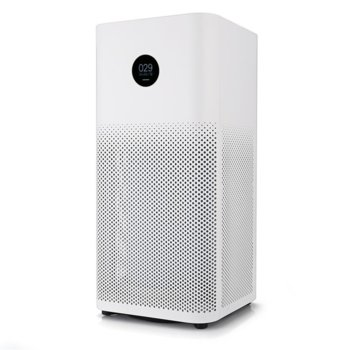 Пречиствател на въздух Xiaomi Mi Air Purifier 2s, OLED дисплей, 3 слоя на филтрация, за помещения до 37кв.м., бял image