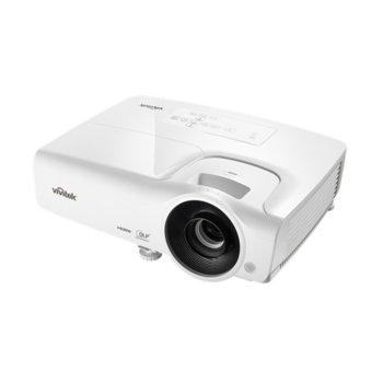 Проектор Vivitek DW265, DLP, 3D Ready, WXGA (1280x800), 15000:1, 3500 lm, 2x HDMI, 2x VGA, USB, бял image