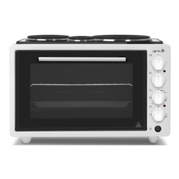 Готварска печка Arielli AO-3643W, 3 нагревателни зони, 42л. обем, черна image