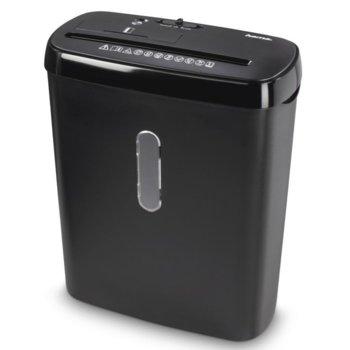 Шредер HAMA Basic S8CD, до 8 листа А4, CD, DVD, Blu-Ray дискове и пластмасови карти, функция за автоматичен старт и стоп, функция за обръщане на посоката на ножовете image