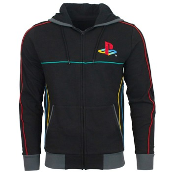Суитшърт Inspired by PlayStation Original Logo, размер S, черен image