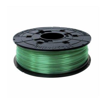 Консуматив за 3D принтер XYZprinting RFPLBXEU04A, PLA, 1.75 mm, зелен, 600 g image