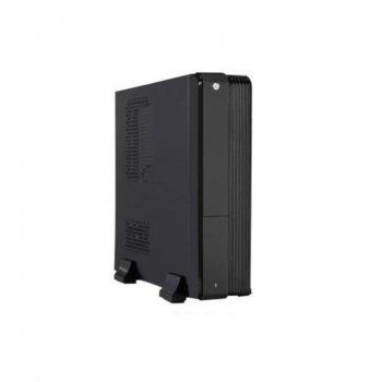 Кутия JNC LBOX-01, mini ITX, черна, 300W захранване image